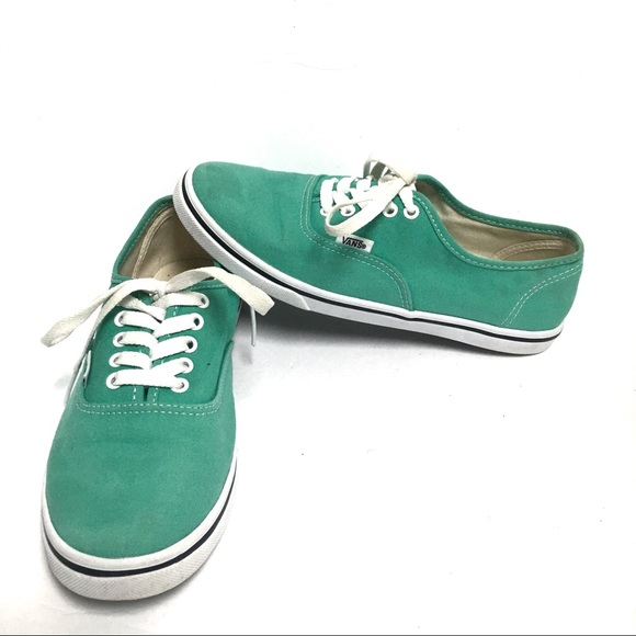 Vans Shoes | Off The Wall Seafoam Green